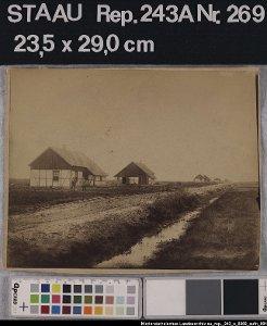 Kolonistenhäuser in Marcardsmoor