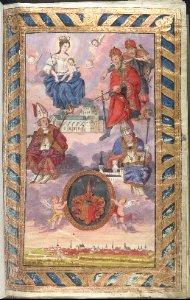 Ahnentafeln der Domherren zu Hildesheim, vom 25. Mai 1632 bis zum 21. Decemb. 1801 aufgeschworen