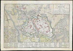 Plan der Königlich Chürfürstlichen Residenz Stadt Hannover
