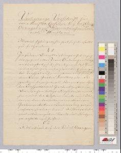 Anstellung zum Meistergesellen: Verhaltensvorschrift; Beeidigung. 1819