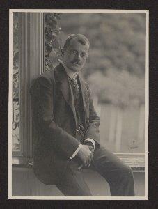 [Adolf Hasenclever : Portrait]