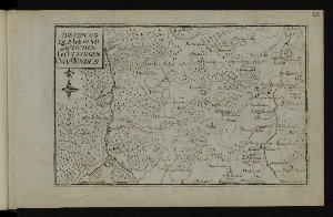 Abbildung der Gegend zwischen Göttingen und Münden : [Stammbuchblatt]