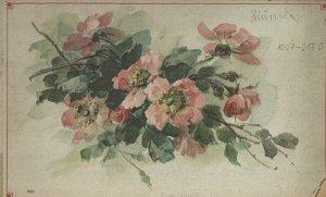[Blumen-Malbuch]