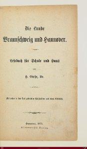 Die Lande Braunschweig und Hannover