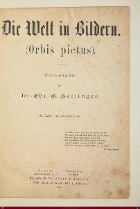 Die Welt in Bildern (Orbis pictus)