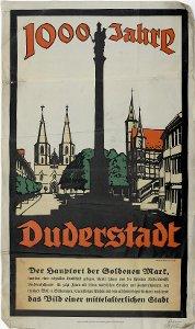 1000 Jahre Duderstadt - Der Hauptort der Goldenen Mark