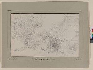 """""""Villa Farnesina"""", Rom, 1830"""