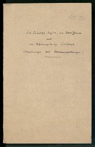 Befreiungskrieg. Verordnungen, Bekanntmachungen und Verzeichnis der Landsturmmänner