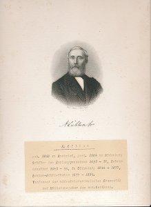 """""""A. Lübben"""" (Heinrich) August Lübben (1818-1884)"""