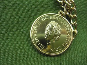 Coronation Coin 1953, Elisabeth II. (England)