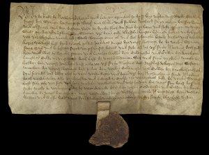 Urkunde vom 19. November 1408