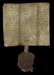 Urkunde vom 14. April 1471