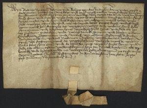 Urkunde vom 30. April 1512
