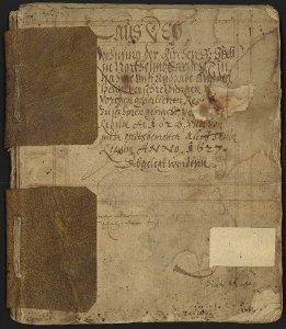 Rechnungsbuch St. Sixti von 1627