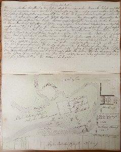 Plan der Rhume oberhalb Mönchewasser