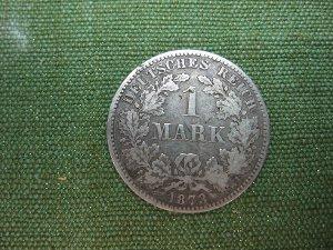 1 Mark Deutsches Reich 1873