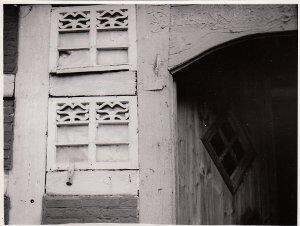 Diepholz, Barver, Haus Nr. 40, Bauernhof, Detail des Eingangs
