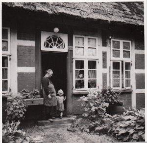 Diepholz, Barver, Haus Nr. 40, Bauernhof, Eingang