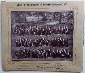 Fotomontage / Nachbarschaft 1905 / Schaffer und Rechnungsführer / Einbeck