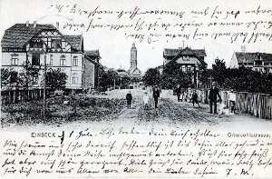 Ansichtskarte / Grimsehlstraße / Einbeck
