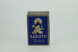 Kakaoschachtel, Marke Sarotti