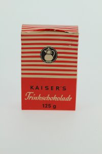 Kaiser's Trinkschokolade, Verpackung