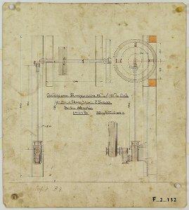 Anlage einer Plungerpumpe für die Domäne Scharzfels in Scharzfeld, 1903