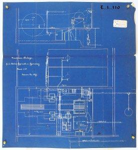 (Dampf-) Maschinenanlage für die Berliner Gipswerke in Sperenberg, 1897