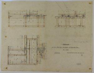 Ablängesäge für die Holzschleiferei in St. Andreasberg. 1905