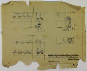 Anlage des Steinbrechers IV und der Glockenmühle IIIa für die Harzer Gipswerke - Robert Schimpf Söhne in Osterode, 1909