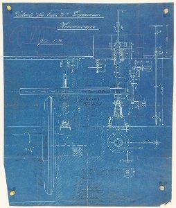 Details zur Mühlenanlage für die Witwe Frau Deppmeyer in Hemmingen, 1892