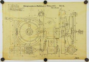 (Kleiner) Abklopfapparat für die Aspriationsfilter von Mahlgängen und Walzenstühlen, 1901