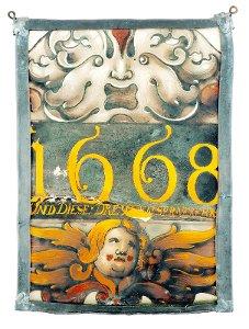 """""""1668"""" (Fensterbierscheibe)"""