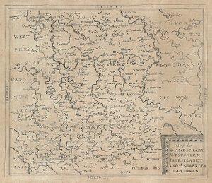 Abriß der Landschafft Westpalen Friestlandt und angrenden Landeren