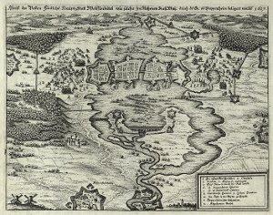 Abriß der Vesten Fürstlichen Haupt Statt Wolffenbüttel wie solche im Namen Kayserllicher Majestät durch den General von  Pappenheim belägert worden 1627