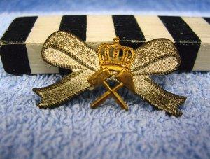 Abzeichen, Schlägel und Eisen mit Krone