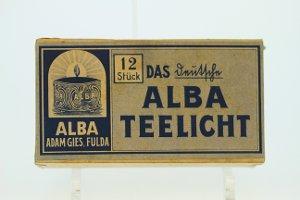 Alba-Teelichter