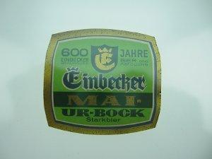 Bier-Etikett Einbecker Mai-Ur-Bock