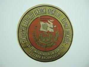 Bier-Etikett Export-Bockbier