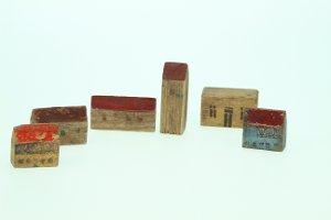 Kinderspielzeug (Holzbausteine)