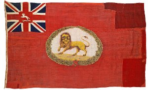 Elb-Zoll Flagge