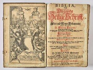 Bibel, Foliobibel Dieckmann
