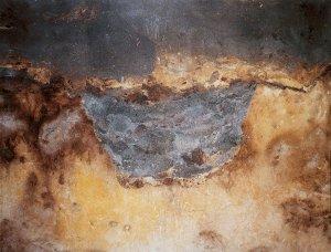 Plaggenesch über Rigol-Graben (1. Jahrtausend n. Chr.) in Podsol