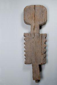 Anthropomorphe Figur aus dem Wittemoor, Mann