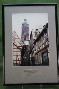 Foto: Blick durch die Pastorenstraße zur Marktkirche St. Jacobi, Einbeck